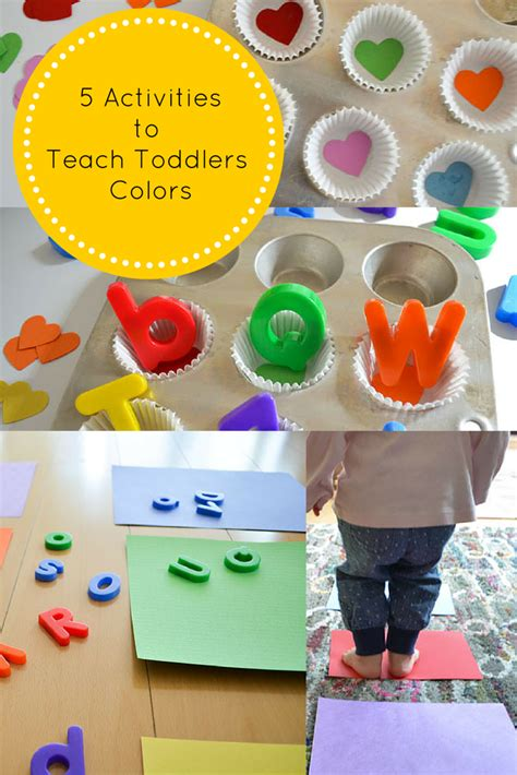 teach baby colors 5 activities to teach toddlers colors the baby bump diaries