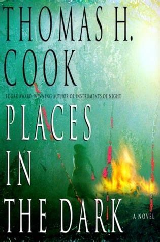 places in the dark by thomas h. cook | signed first