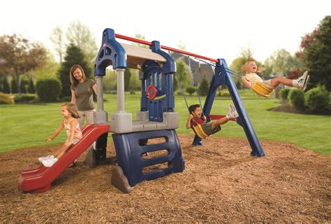 little tike swing set little tikes clubhouse swing set 3l by oj commerce