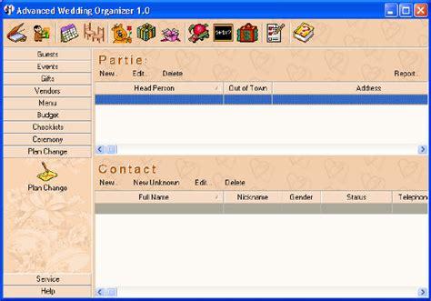 Wedding Notebook Organizer Free Downloads by Personal Info Managers Personal Info Managers Personal