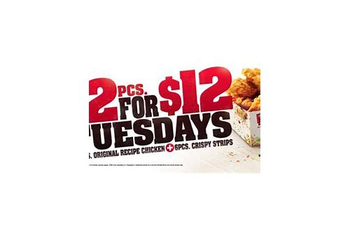 kfc australia tuesday deals