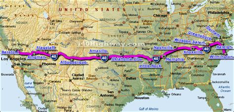 map us route 40 i 40 drive to 0 challenge harris personal injury lawyers