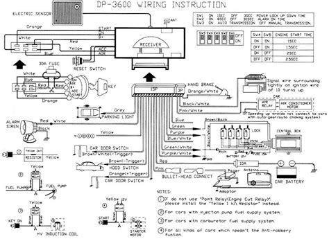 auto alarm wiring diagram wiring diagram schemes