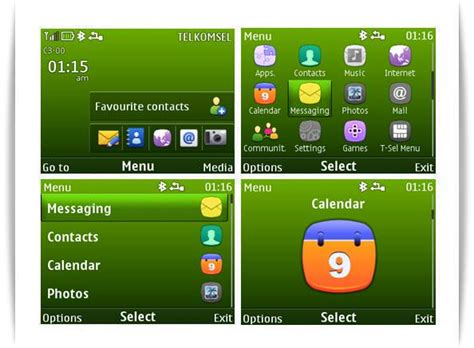yellow themes for nokia c3 mobile phones march 2011
