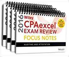 wiley cpaexcel review 2018 focus notes complete set books wiley cpaexcel review 2016 focus notes set wiley
