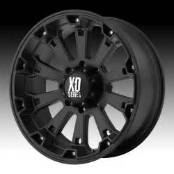 Xd Wheels On Truck Kmc Xd Series Xd800 Misfit Matte Black Custom Wheels Rims
