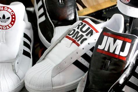 run dmc shoes adidas suite for run dmc by revive customs just kicks