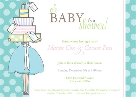 Baby Shower Invitations by Baby Shower Invitations For Boy Baby Shower