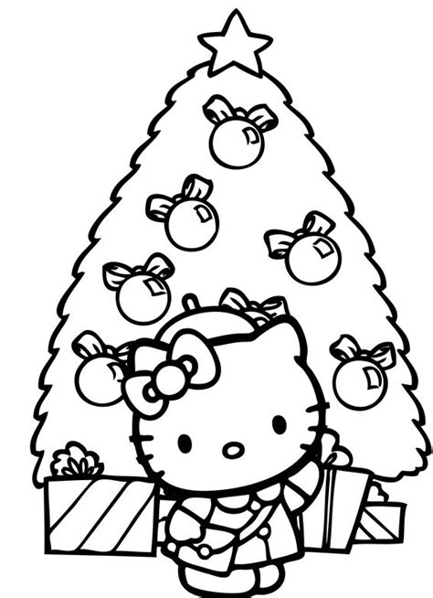hello kitty coloring pages for christmas 78 best images about hello kitty on pinterest coloring