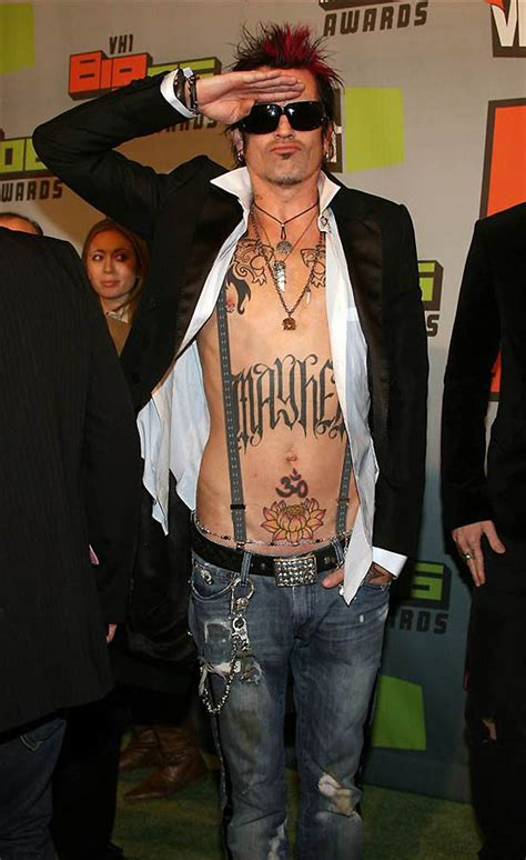 the popular stars and their famous tattoos