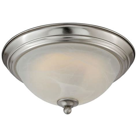 menards kitchen ceiling lights payton 11 quot satin nickel 60 pc led ceiling light at menards 174