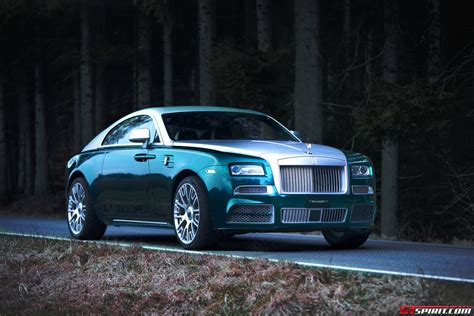 Official Mansory Rolls Royce Wraith Gtspirit
