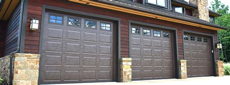 Brown Garage Door by Brown
