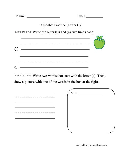 100 Alphabet Worksheets For Adults