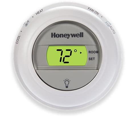 digital round non programmable thermostat | honeywell
