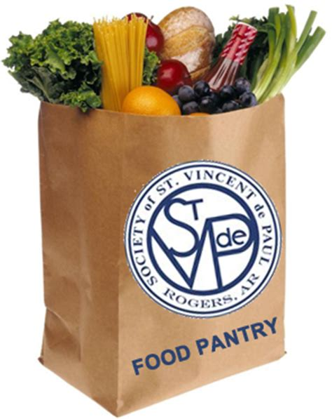 food pantry society of vincent de paul