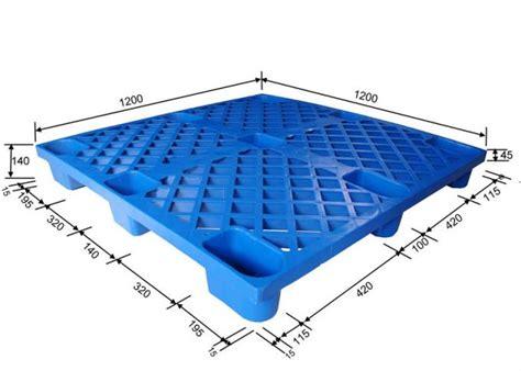 pallet pattern in spanish 9 feet standard size plastic pallet