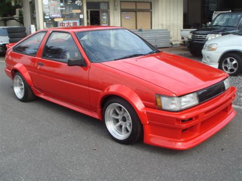 Toyota Ae86 For Sale 1985 Year Toyota Corolla Levin Ae86 For Sale Car On