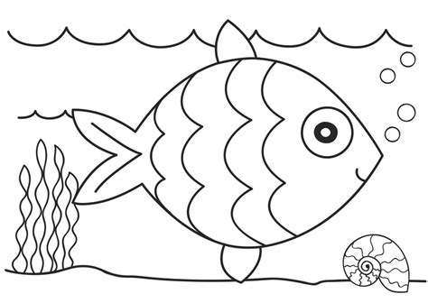 free coloring book printouts fish coloring pages dr