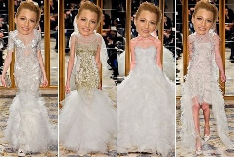 What Did Blake Lively's Marchesa Wedding Gown Look Like