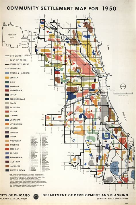 Map Of Chicago Neighborhoods by The Center For Volga German Studies At Concordia University