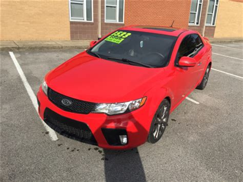 kia forte koup 2011 for sale 2011 kia forte koup for sale in cleburne tx carsforsale