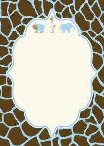 blank baby shower invitation baby shower shower invitations invitations and babies