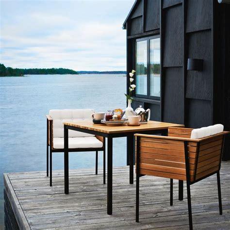 scandinavian outdoor furniture 18 modern outdoor dining space furniture ideas shelterness