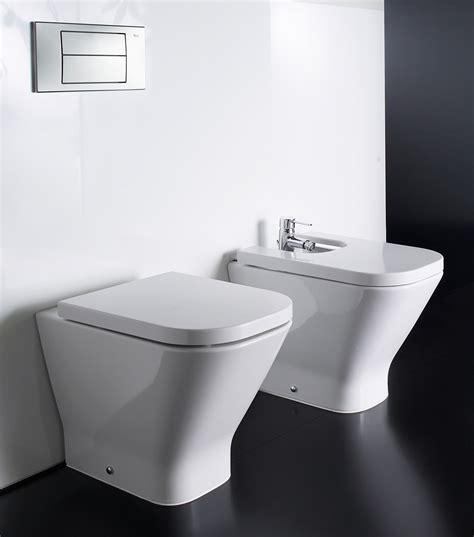 Designer Bathroom Accessories roca the gap back to wall wc pan 540mm 347477000