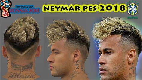 corte de neymar 2018 russia neymar haircut 2018 back view wavy haircut
