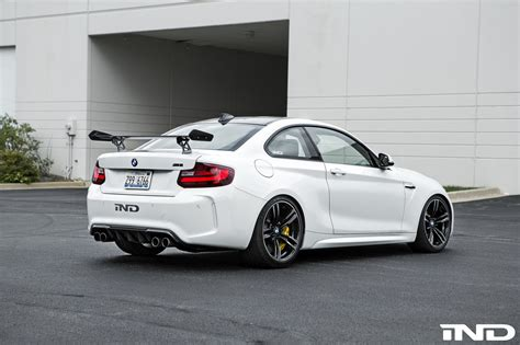 Bmw Alpine White by Alpine White Bmw M2 Gets Aftermarket Upgrades