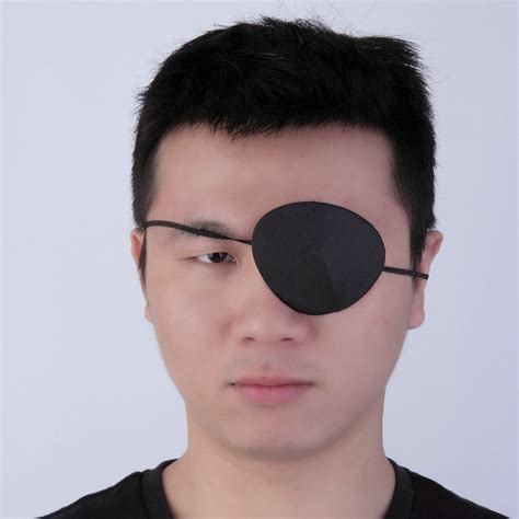 eye patch black use concave eye patch groove washable eyeshades adjustable ebay