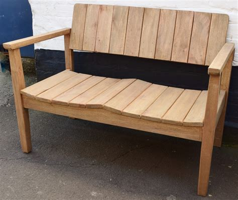 webmail bench teak garden bench in sofas chairs and stools