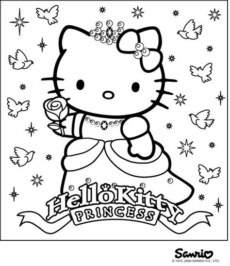 hello kitty beach coloring page 86 best images about coloring hello kitty on pinterest