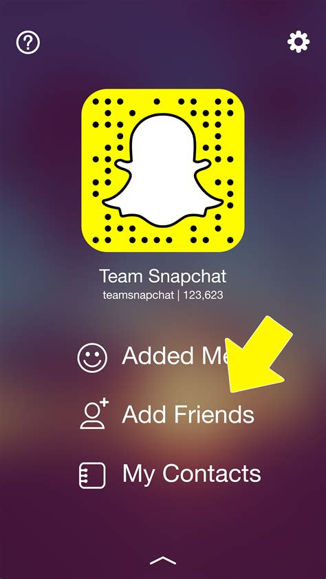 Search Snapchat Snapchat Support Finding And Adding Friends