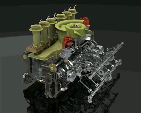 Porsche 917 Motor by Porsche 917 Engine Animation Youtube