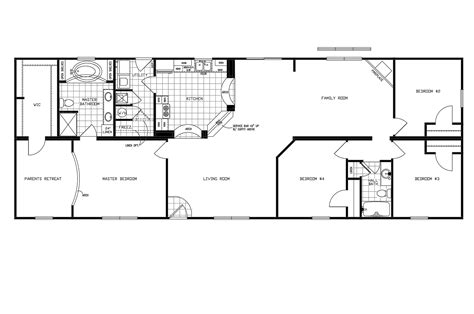 manufactured home floor plan 2010 clayton jamestown