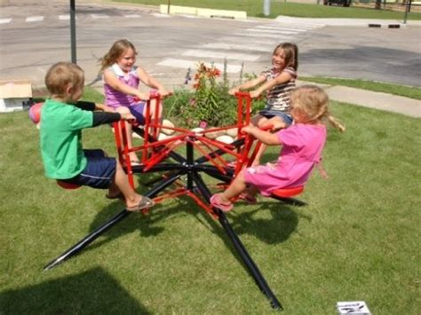 backyard merry go round kids twirl go round kids 4 seater merry go round teeter