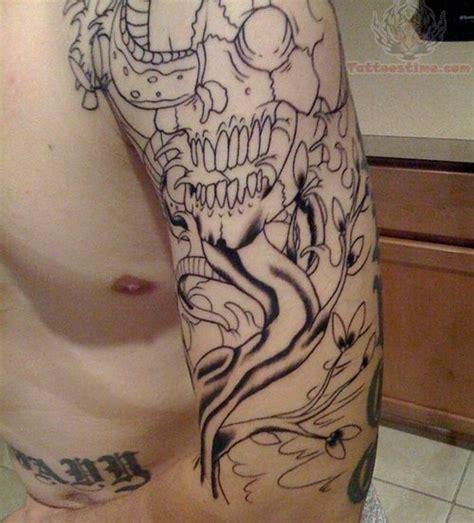 tattoo sleeve outline cost dragon tattoo sleeve outline outline half sleeve tattoo