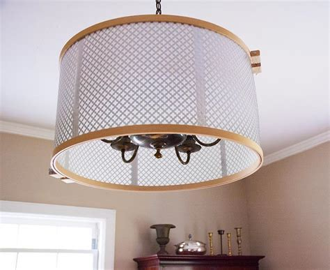 L Shades Brandnew Replacement Chandelier Drum Shades How To Make A Drum Shade Pendant Light