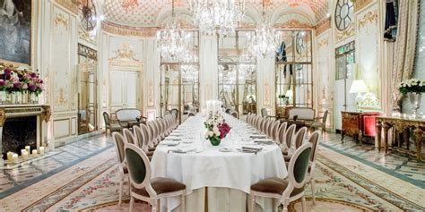 Meetings and events Rooms at Le Meurice   Luxury 5 star