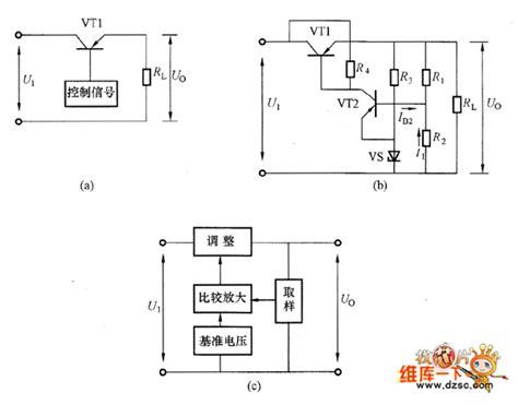 transistor voltage regulator transistor basic voltage regulator circuit analog circuit basic circuit circuit diagram