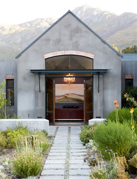 Homes With Interior Courtyards simon mccullagh architects cape barn style architecture