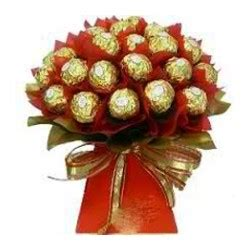 Choco Medley send chocolate bouquet to philippines sendah