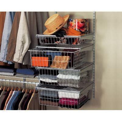 Closetmaid Shelftrack 4 Drawer Kit by 28 Best Images About Closet Organization Ideas On