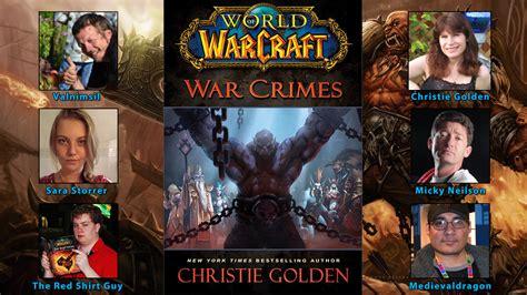 war crimes world of 074347130x blizzplanet interview world of warcraft war crimes by christie golden blizzplanet warcraft