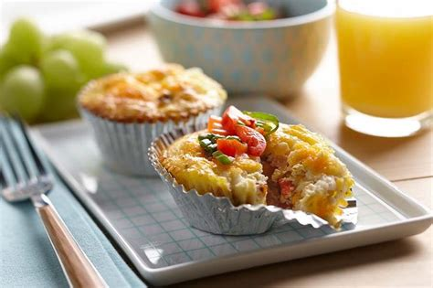 protein quiche crustless cottage cheese quiches with bacon corn and