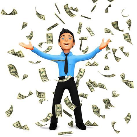 Winning Money Clipart - raining money clipart clipground