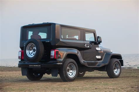 modified thar dc modified mahindra thar unveiled yours for inr 5 95