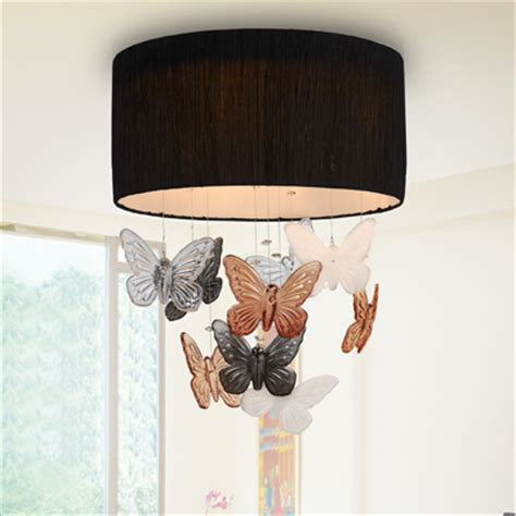 exquisite brief l butterfly ceiling light